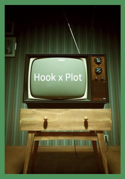 스토리텔링 절대법칙: HOOK X PLOT