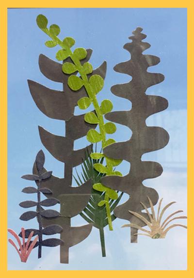 [1DAY] 여름, 식물, 콜라주