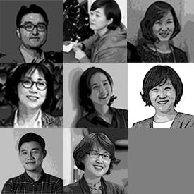 김동성 김진 김성미 김수정 송미경 신혜은 정진호 채인선 강사