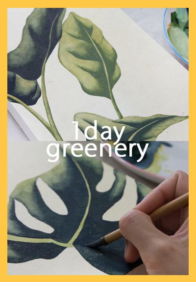 [1DAY] 뜻밖의 싱그러움 : 신묘한 그리너리