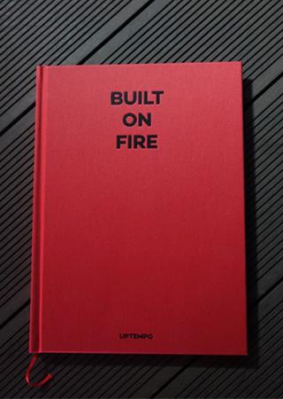 UPTEMPO 작가의 <BUILT ON FIRE BOOK> 출간